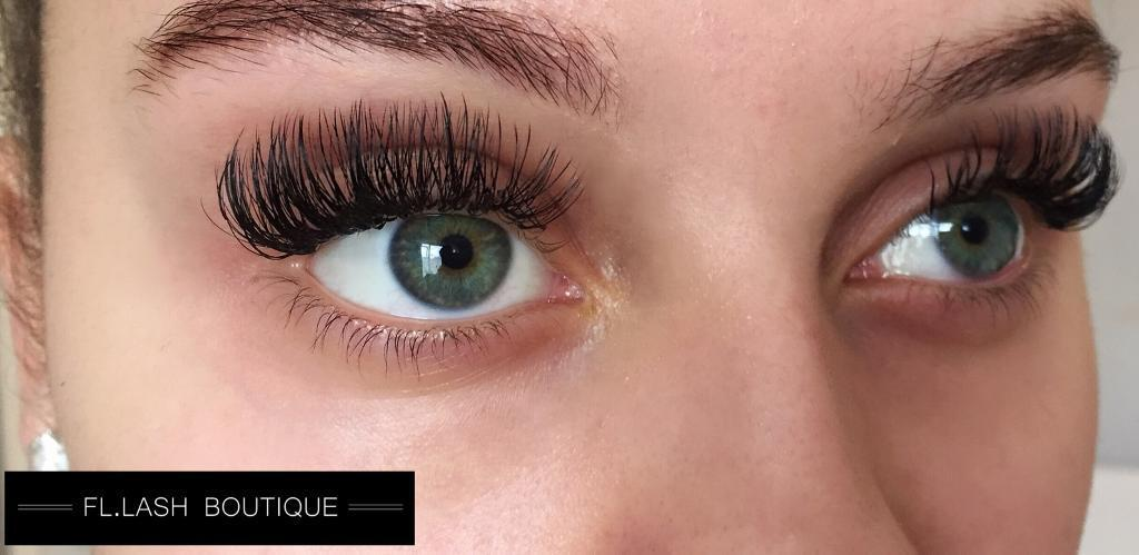 40 Full Set Russian Volume Eyelash Extensions Mink Classics Also