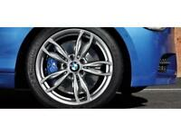"Brand new genuine BMW 18"" 436m alloy wheels and tyres F22 F21 2 Series M135i M235i M140i M240i"