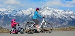 FollowMe tandem vélo suiveur - barre de traction NEUF