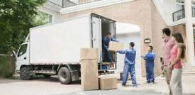HOUSE OFFICE REMOVALS MAN WITH VAN BIKE DELIVERY SERVICE MOVERS PALLET TRUCK FLAT HIRE URGENT