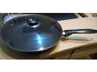 frying pan with lid--price reduced !