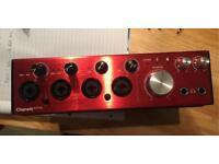 Focusrite Clarett 4 pre Thunderbolt Audio Interface