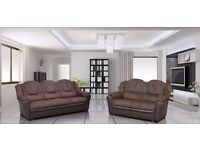 BRAND NEW LUXURY CORNER SOFA, ALSO AVAILABLE AS A 3+2 SET, 3 COLOURS TO CHOOSE FROM, UK DELIVERY