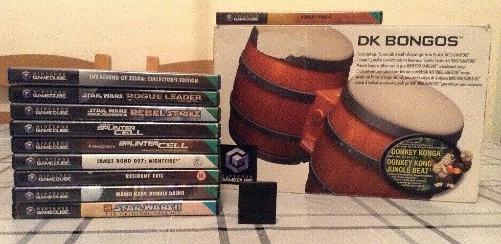 Nintendo GameCube 10 Games Bundle & Memory Card