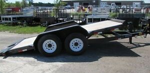 2015 titan 16' - 7 TON FULL-BED TILT TRAILER