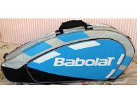 Sports bag for badminton racquets