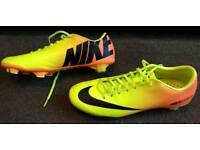 Nike Mercurial XC size 9 Football Boots