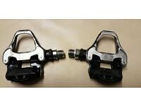 Shimano 105 clipless pedals (Road or mtb)