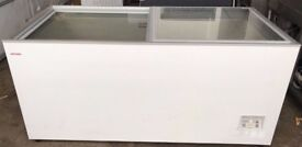 Chest freezer for frozen food commercial shop ice cream
