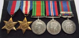 Pilot Officers WW11 medal group including his commision document