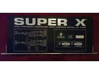 CROSSOVER UNIT WITH LIMITERS--BEHRINGER CX2300 SUPER X