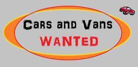 al cars or vans wanted