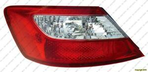 Tail Light Driver Side Coupe Honda Civic 2006-2008