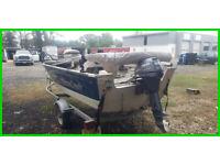 2008 Mirrocraft Troller Hauler 14' Fishing Boat 9.9 HP Yamaha Motor with Trailer
