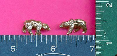 100 wholesale lead free pewter bear figurines m11012