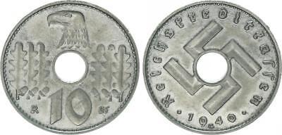 Reichskreditkassen 10 Pfennig J.619 1940 G vorzüglich+/vorzüglich