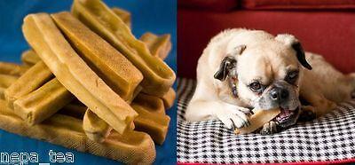 1500 grams (15 pcs to 24 pcs) Bulk Natural Yak Himalayan Dog Chew Milk Dog Food