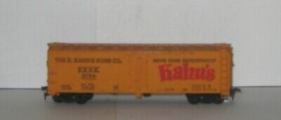 Used, HO SCALE -  THE E. KAHN'S SONS CO. REFRIGERATOR BOX CAR - Road No. E.K.S.X. 3794 for sale  Shipping to Canada