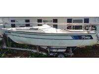 LF - 1974 Renken 18' Sailboat & Trailer - Florida