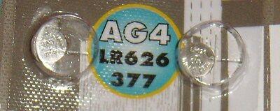 Pile TURBOCAR  de 1,5 volts  AG4 lr626/377 microcel LR626 CNB, 2 pièces.