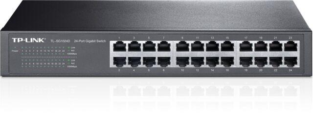 TP-Link TL-SG1024D 24-Port Gigabit Rackmount Switch