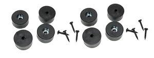 8 Penn Elcom Speaker Amp Case Rubber Feet / Foot Bumpers 1 1/2