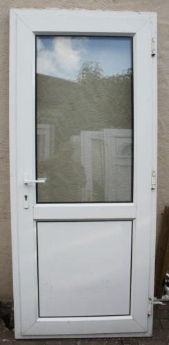 White upvc back door ebay for White back door