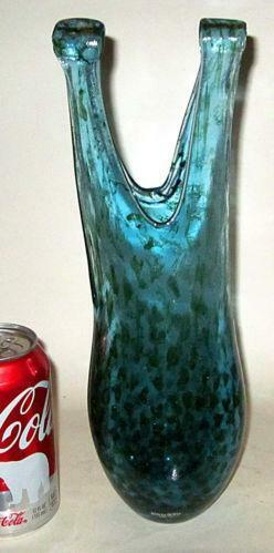 Kosta Boda Blue Vase Ebay