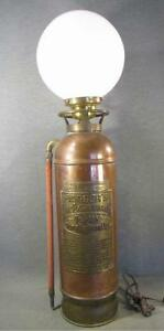 About Antique Cars Fire And Fire Extinguishers Antique Fire Extinguisher Lamp