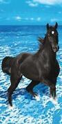 Handtuch Pferd