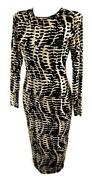 Womens Animal Print Dress
