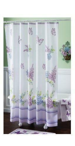 Lilac Shower Curtain Ebay