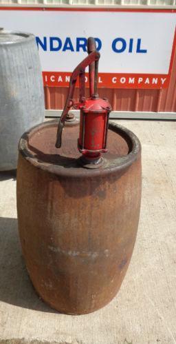 Vintage oil barrel ebay for Motor oil by the barrel