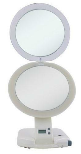 Lighted Travel Mirror Ebay