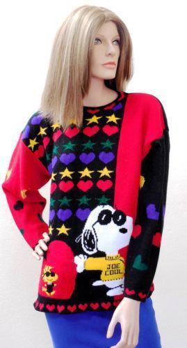 Snoopy Sweater | eBay