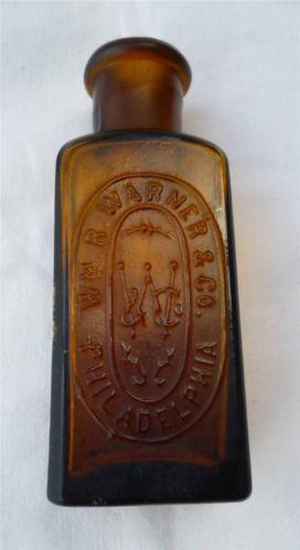 Antique Bottle Embossed Ebay