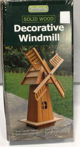 Wood Garden Windmills | EBay