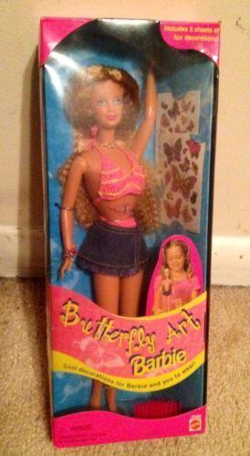 Butterfly Tattoo Barbie | eBay
