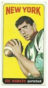 Joe Namath Rookie Card