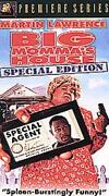 Big Momma's House VHS