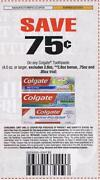 Colgate Toothpaste Coupons