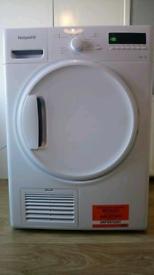 White hotpoint condenser dryer 9kg