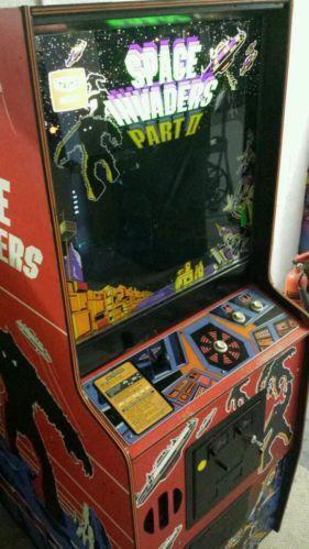 Space Invaders Arcade Machine Ebay