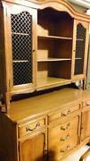 Maple China Hutch
