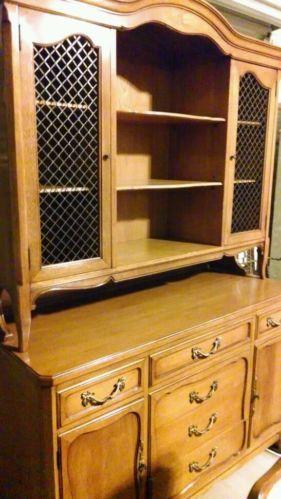 Maple China Hutch Cabinets Amp Cupboards Ebay