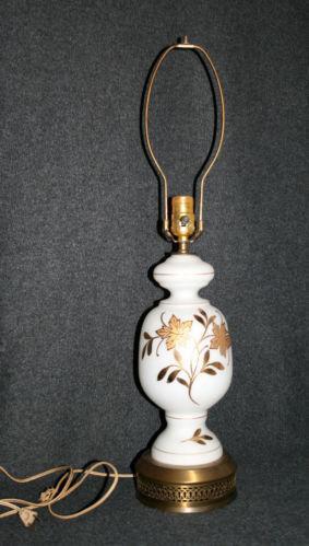 Hand Painted Lamp Ebay