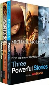 Michael Morpurgo: Three Powerful Stories: Boxed Set Paperback
