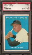 Vintage Baseball Cards Willie Mays