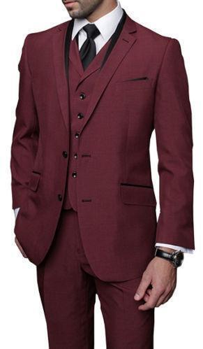 Burgundy Suit Ebay
