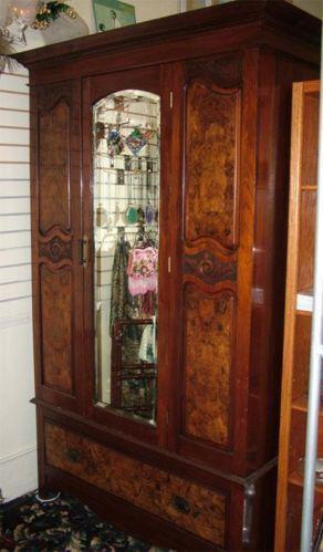 Antique Armoire Mirror Ebay